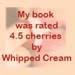 Book rated 4.5 cherries